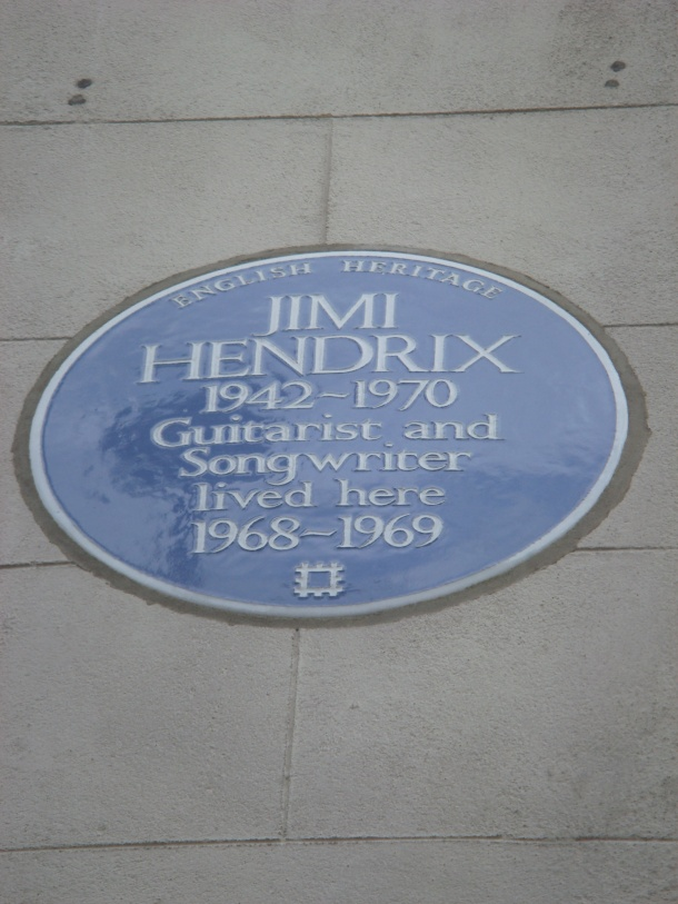 Jimi Hendrix in London