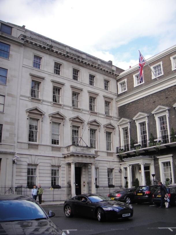 former libyan embassy 5 St James Park