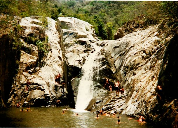 Mexico waterfall