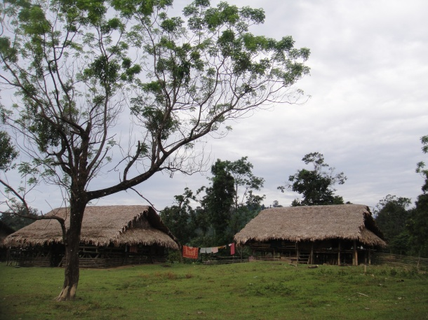 Adi tribe village