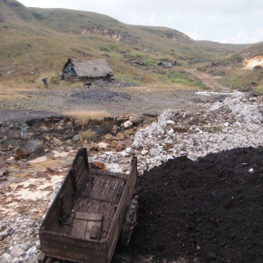 Coal Mining On The Meghalaya Plateau