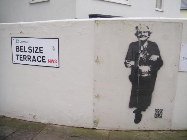 Banksy in Belsize