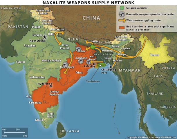 India weapons smuggling