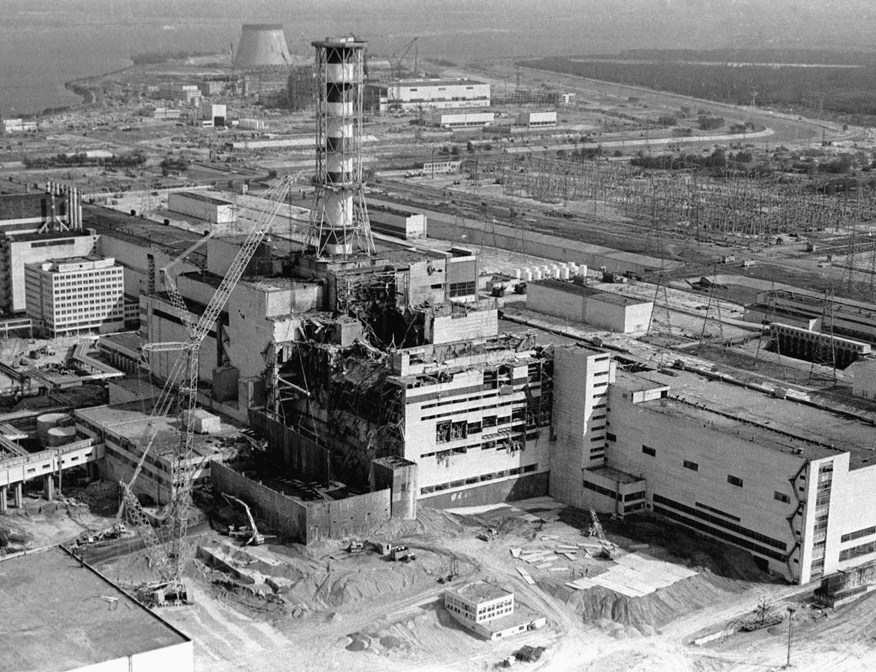 Crisis Pictures: The Chernobyl nuclear disaster |Chernobyl Reactor Meltdown