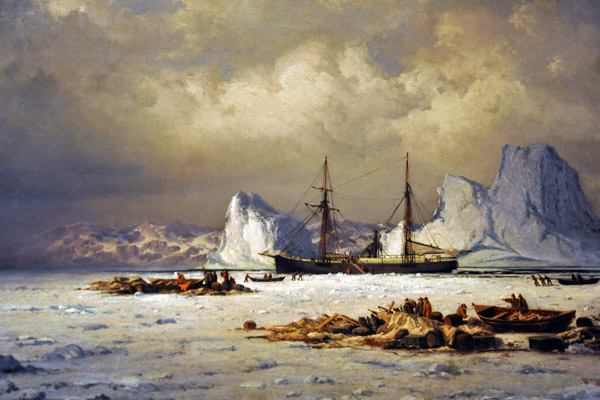 The Polaris Far North William Bradford 1882
