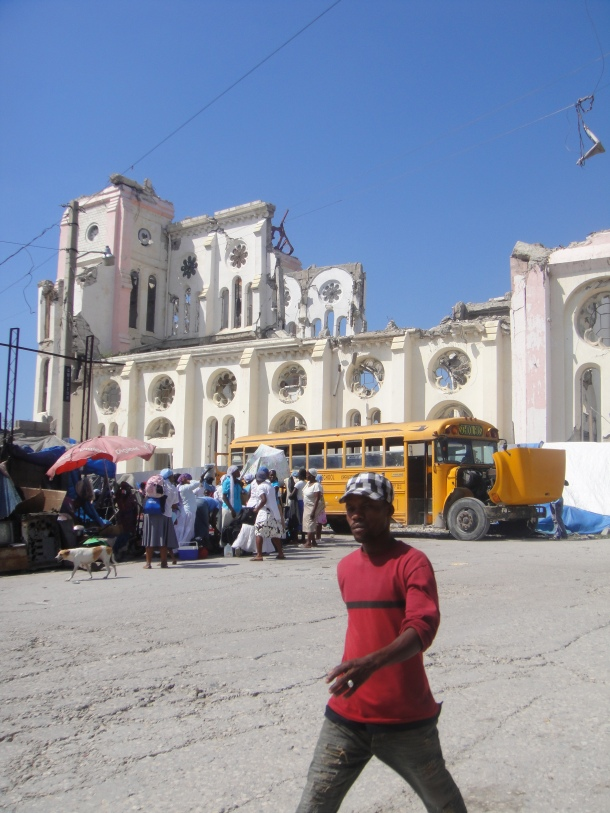 port-au-prince notre dame church