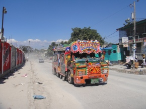 Visiting Port-au-Prince, Haiti