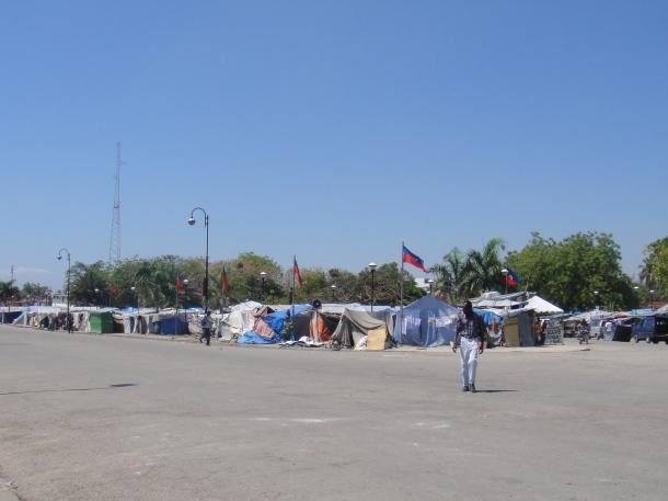tent city haiti