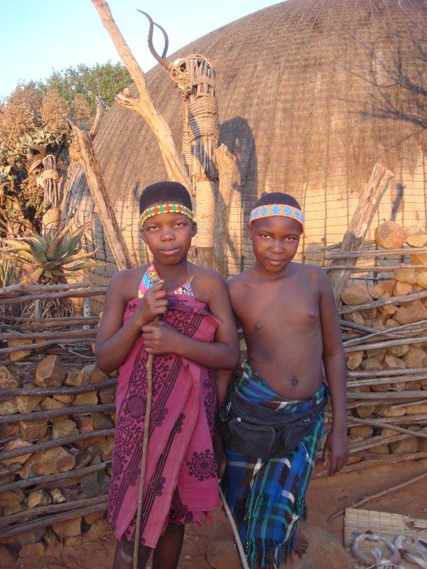 zulu-village