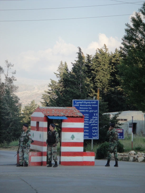 lebanon checkpoint