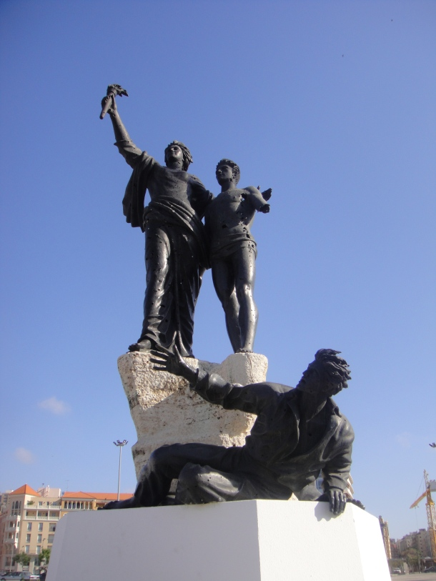 martyr's square beirut