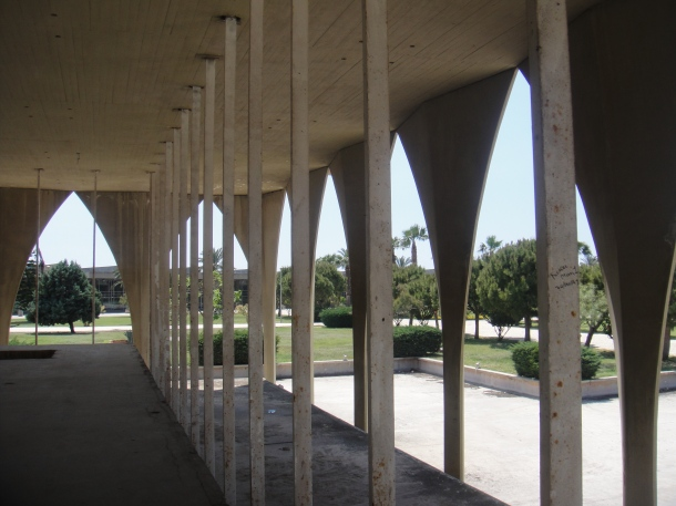 Rashid Karami International Fair by Oscar Niemeyer