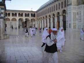 The Umayyad Mosque of Damascus, Syria