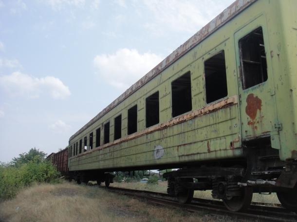 abandoned train georgia