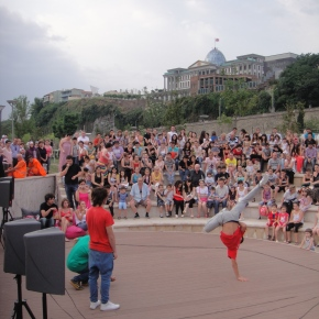 A Breakdancing Competition In Tbilisi, Georgia