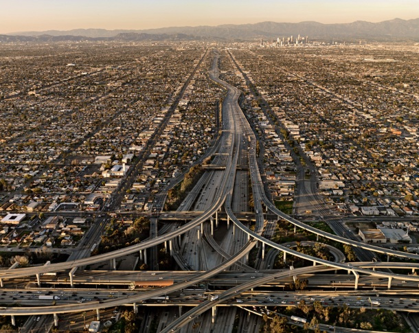 Highway #5, Los Angeles, California, USA