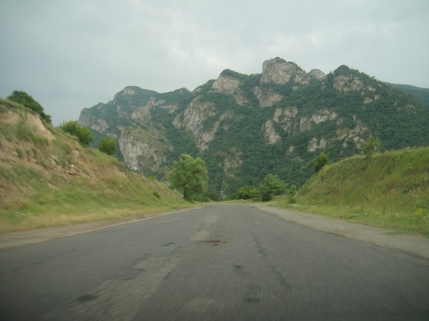 M-4 highway armenia