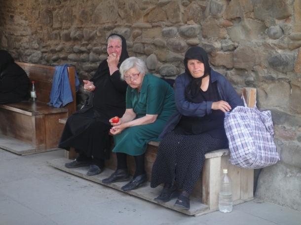 old women sveti-tskhoveli