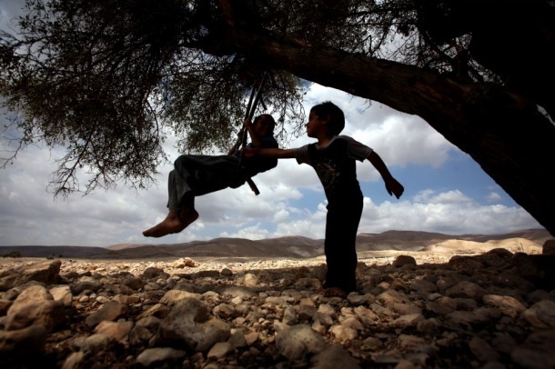 west bank children
