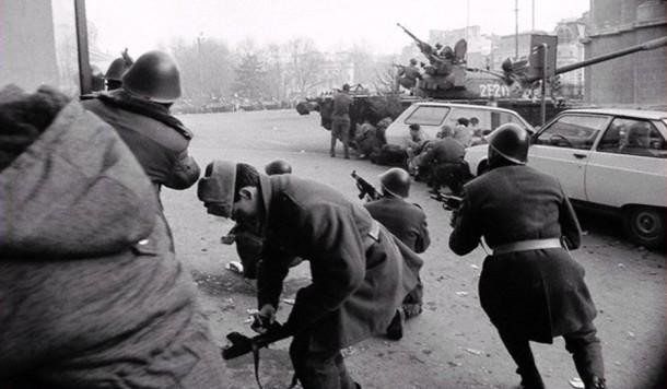 1989 romanian revolution fighting