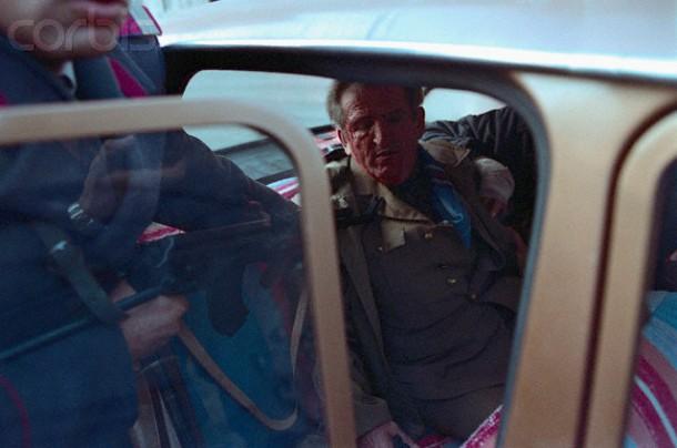 22 December 1989 Nicolae Ceausescu captured car