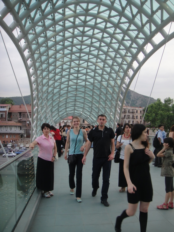 bridge of peace tbilisi