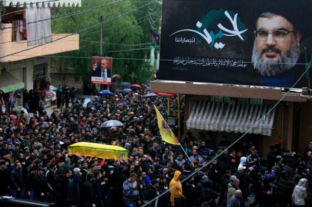 Hassan Nasrallah billboard