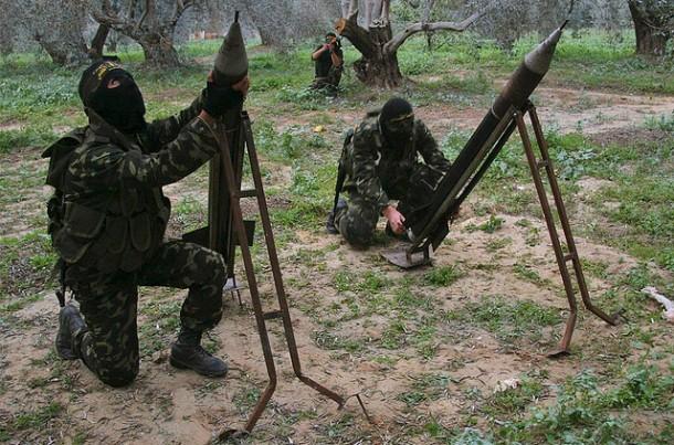 hezbollah firing rockets