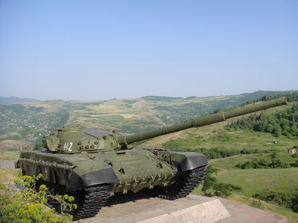 nagorno-karabakh tank