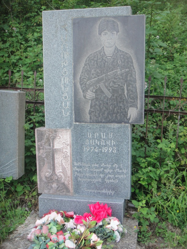 nagorno-karabakh war grave