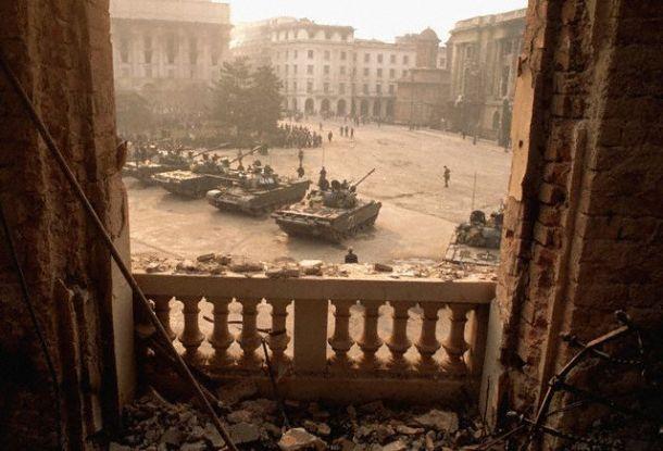 palace square 1989 romanian revolution