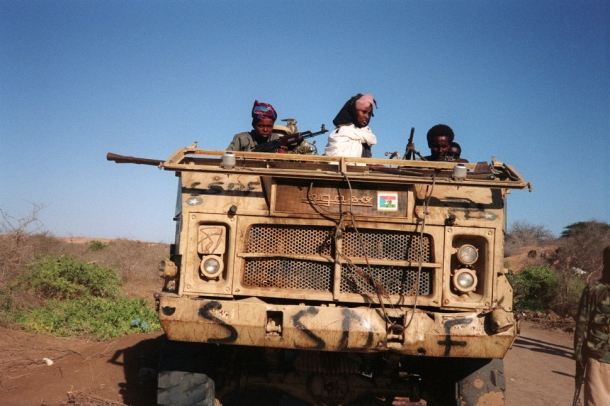 somalia clan-based guerilla group
