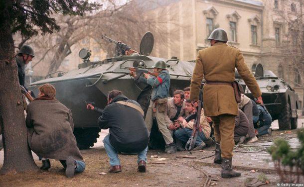 street fighting romanian revolution