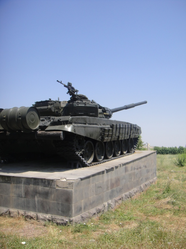T-72 war memorial nagorno-karabakh