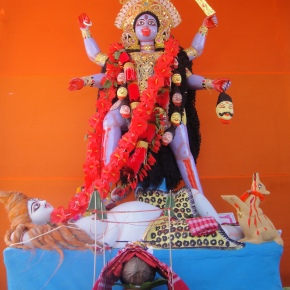 A Shrine To The Bloodthirsty Kali…