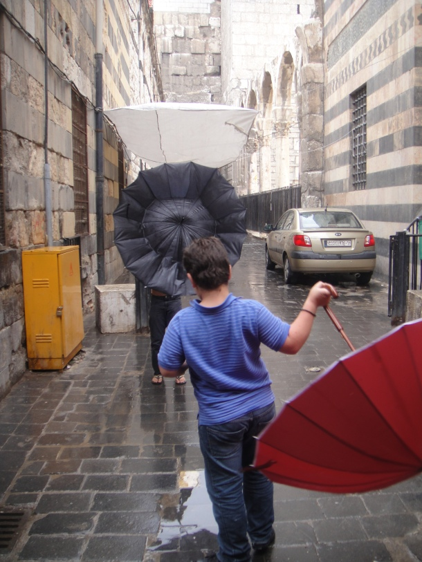 umbrellas damascus