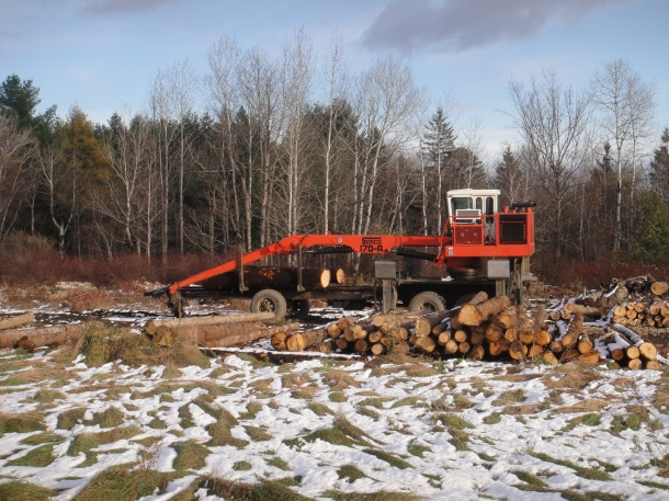 maine logging equipment