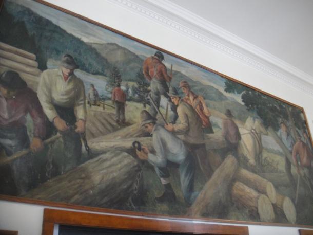 millinocket post office john beauchamp logging