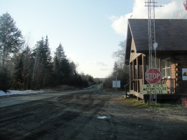 north maine woods caribou checkpoint