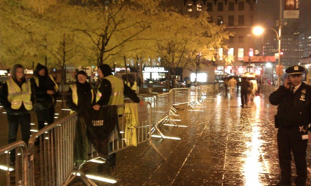 police occupy wall street