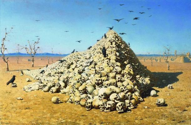 Apotheosis of War Vasily Vereshchagin