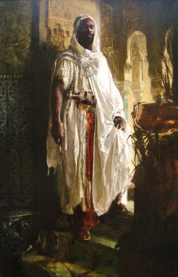 eduard charlemont the moorish chief the harem guard