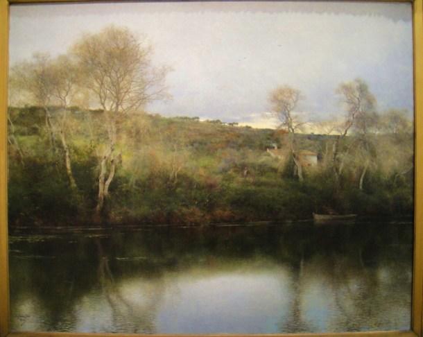 emilio sanchez perrier landscape evening in spain