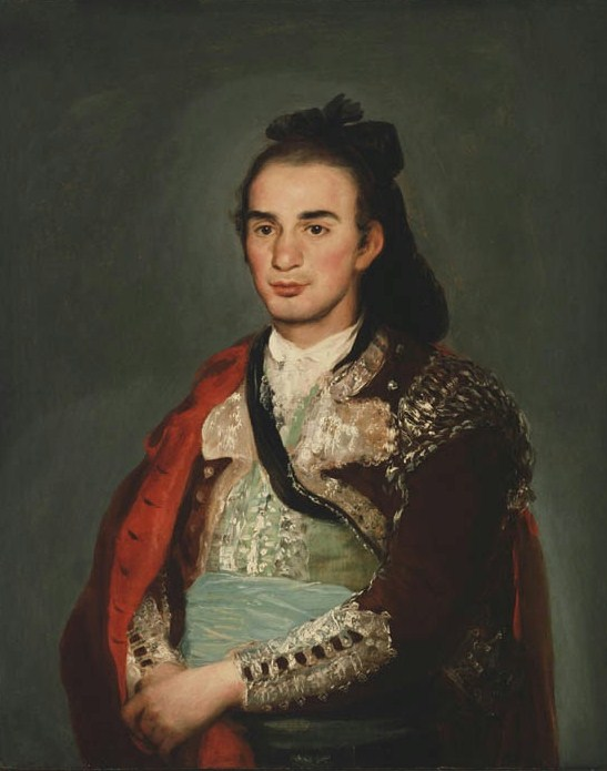 francisco goya portrait of the toreador jose romero