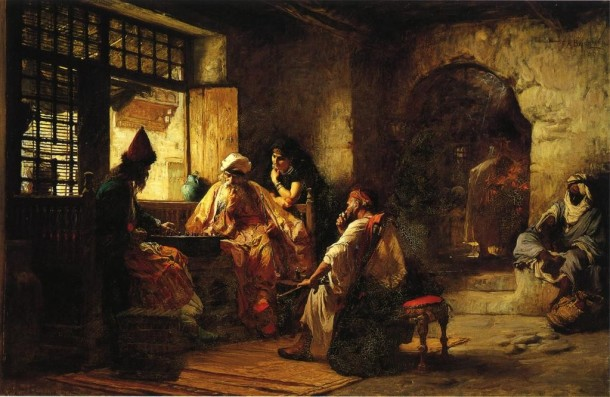 Frederick Arthur Bridgman An Interesting Game