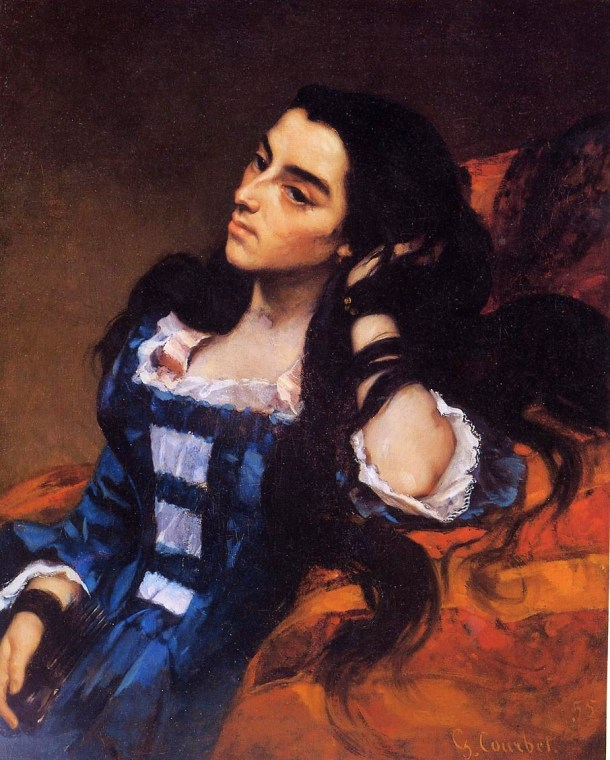 gustave courbet spanish woman