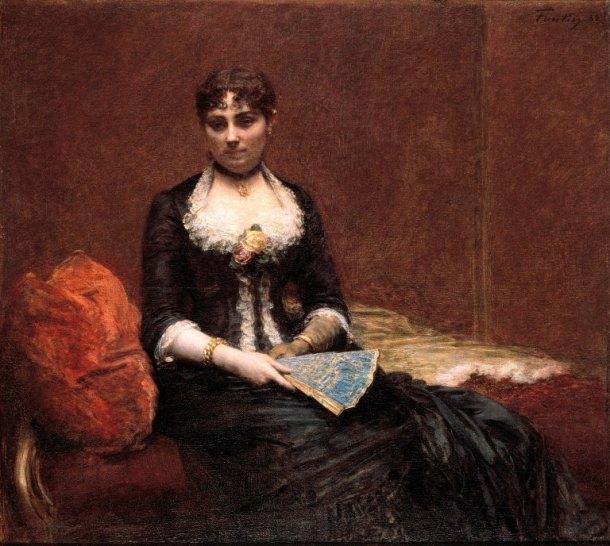 Henri Fantin-Latour Portrait of Madame Leon Maitre