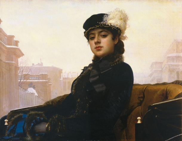 Ivan Kramskoy The Unknown Woman
