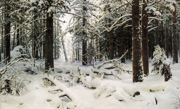 ivan shishkin winter