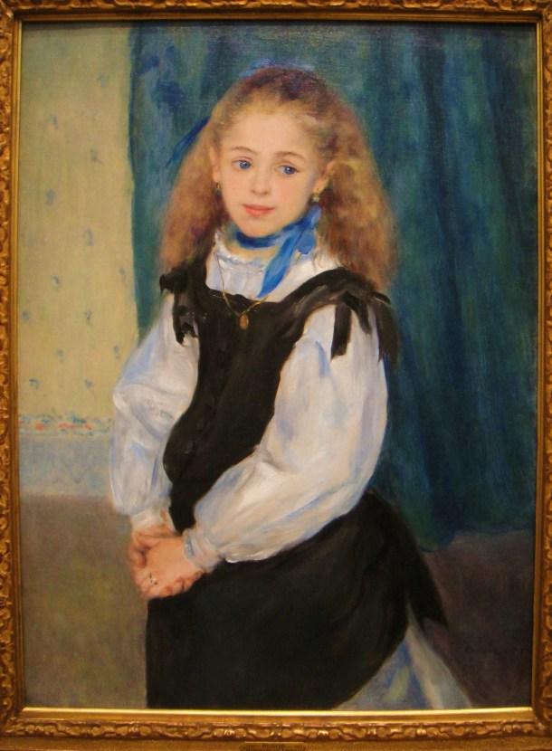 pierre auguste renoir portrait of mademoiselle legrand